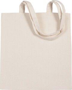 Kimood KI0250 - Cotton canvas shopper bag