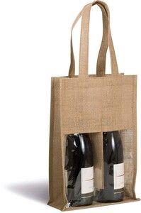 Kimood KI0268 - Jute bottle bag