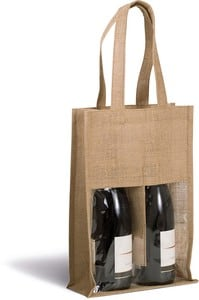Kimood KI0268 - Jute bottle bag