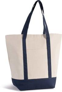 Kimood KI0271 - Geräumige Tasche im Marine-Stil