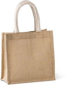Kimood KI0272 - Jute canvas tote - small