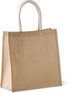 Kimood KI0274 - Jute canvas tote - large