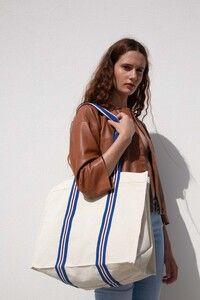 Kimood KI0279 - Fashion shopping bag in organic cotton
