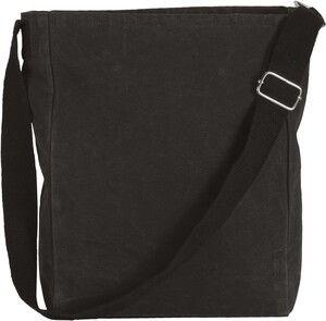 Kimood KI0351 - Cotton canvas shoulder bag