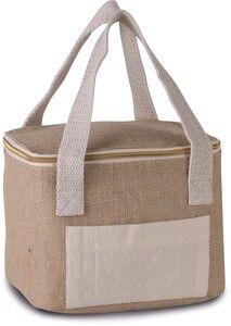 Kimood KI0352 - Jute cool bag - small size
