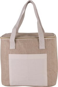 Kimood KI0353 - Jute cool bag - medium size