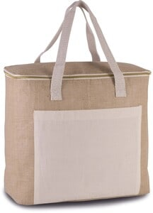 Kimood KI0354 - Jute cool bag - large size