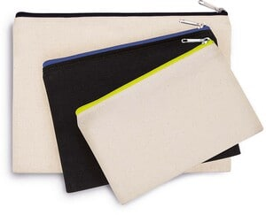 Kimood KI0720 - Cotton canvas pouch - small