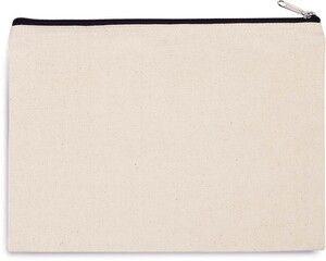 Kimood KI0722 - Cotton canvas pouch - large