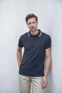 Henbury H482 - Mens Coolplus® Tipped Polo Shirt