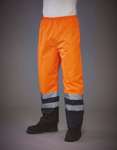 Yoko YHVS46 - Hi-Vis Waterproof Over Trousers