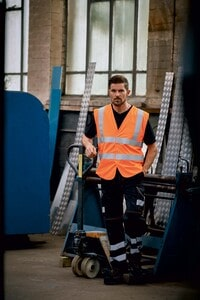 Yoko YHVW100ASFR - High Visibility, Anti-Static And Flame Retardant Gilet