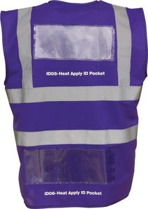Yoko YID06 - Heat Apply ID Pockets (Packs of 50)