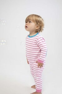 Larkwood LW057 - Striped long-sleeved bodysuit