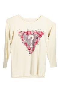 GUESS JEANS K64I0400I7L - T-Shirt mit langen Ärmeln Säugling