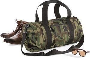 Bag Base BG173 - Camo Barrel Bag