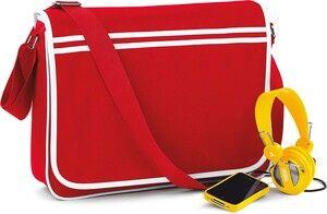 Bag Base BG71 - Sac messenger rétro