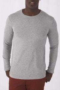 B&C CGTM070 - Mens organic Inspire long-sleeved T-shirt