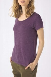 B&C CGTW056 - Ladies TriBlend crew neck T-shirt