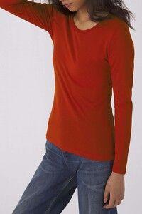B&C CGTW071 - Ladies organic Inspire long-sleeved T-shirt