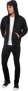 B&C CGWUI25 - ID.205 Full Zip Hooded Sweatshirt