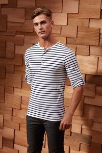 Premier PR218 - Long John - Mens roll sleeve T-shirt