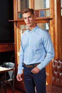 Premier PR252 - Overhemd met grote vichyruiten