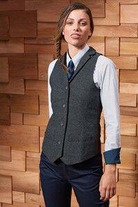 Premier PR626 - Ladies Herringbone waistcoat