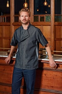 Premier PR906 - 'Zip close' chef's jacket