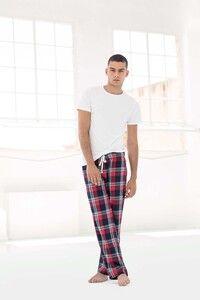 Skinnifit SFM083 - Mens tartan lounge trousers