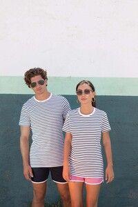 Skinnifit SFM202 - Unisex Striped T-shirt