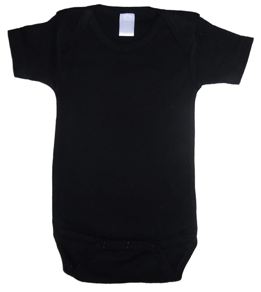 Infant Blanks 0010BL - Interlock Short Sleeve Bodysuit Onezies