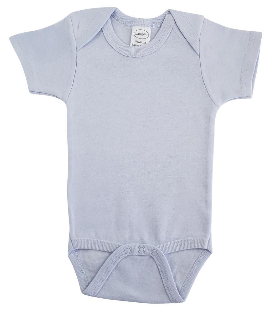 Infant Blanks 0020B - One piece Onezie interlock