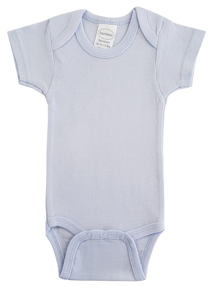 Infant Blanks 002B - Short Sleeve One Piece