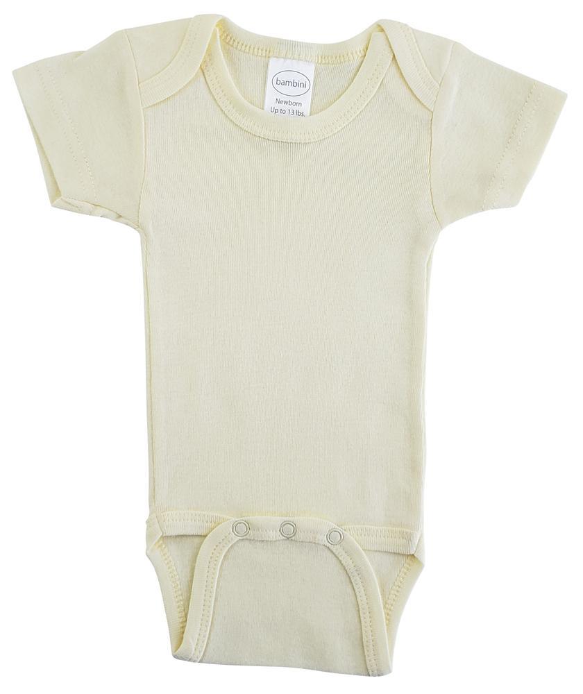 Infant Blanks 004B - Short Sleeve One Piece