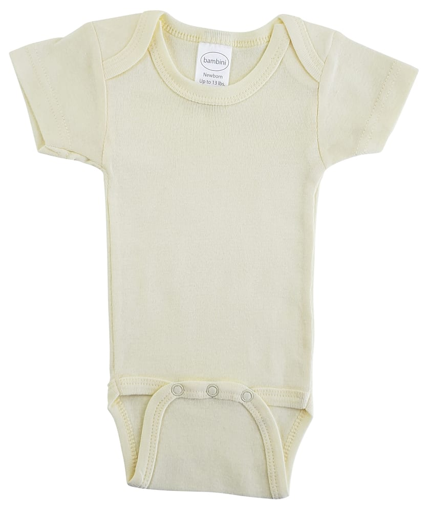 Infant Blanks 004B - Short Sleeve One Piece