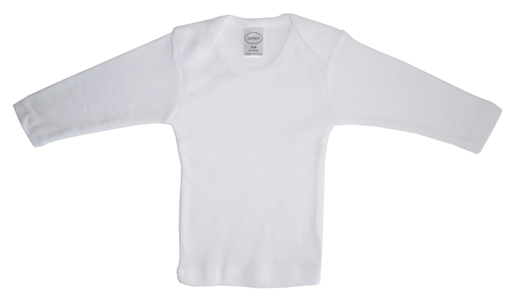 Infant Blanks 050B - long sleeve lap tee
