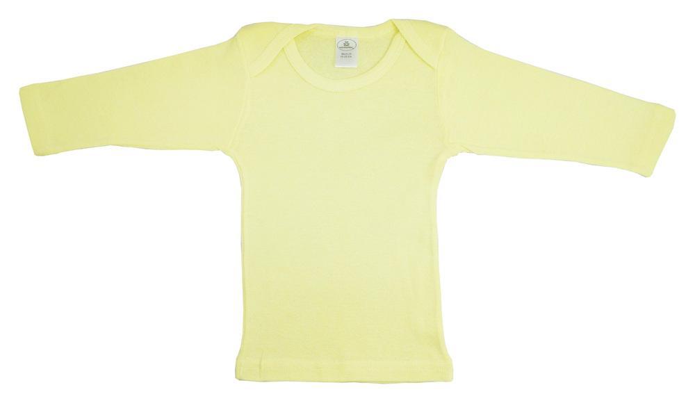 Infant Blanks 053B - long sleeve lap tee