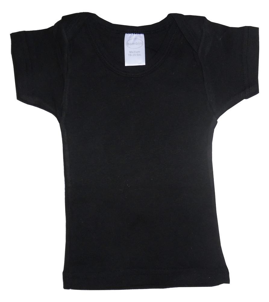 Infant Blanks 0550BL - Short Sleeve Lap Shirt Bulk