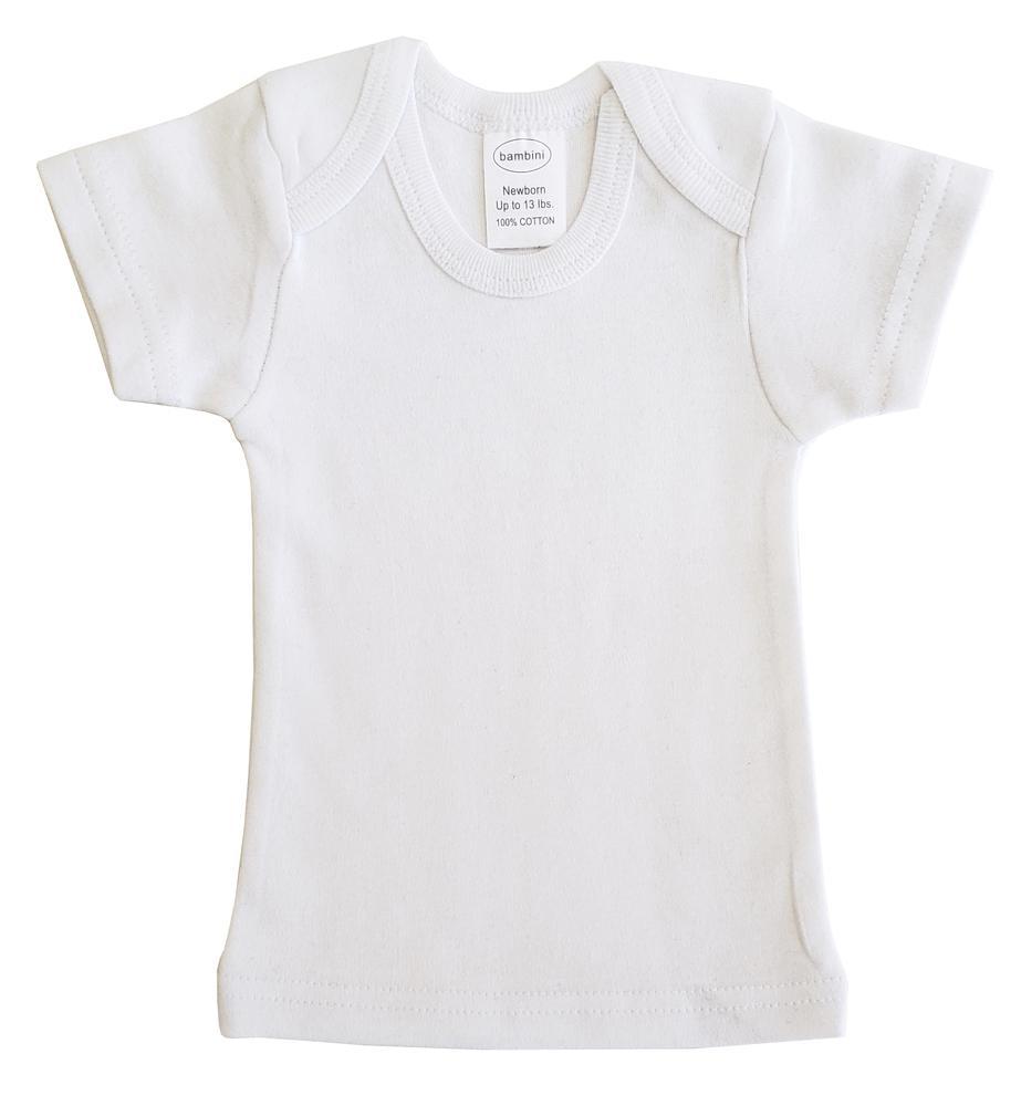Infant Blanks 0550B - Short Sleeve lap shirt