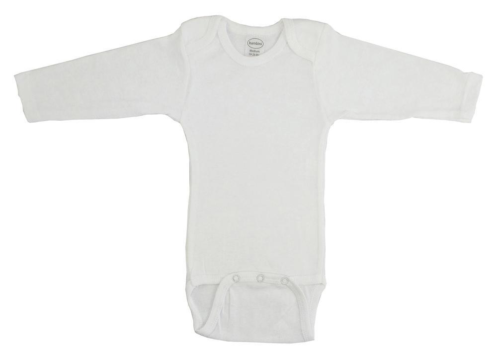 Infant Blanks 009B - Long Sleeve Onezies