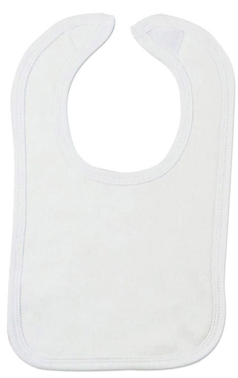 Infant Blanks 1023W - Interlock Bib