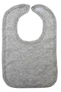 Infant Blanks 1023Grey - Interlock Bib