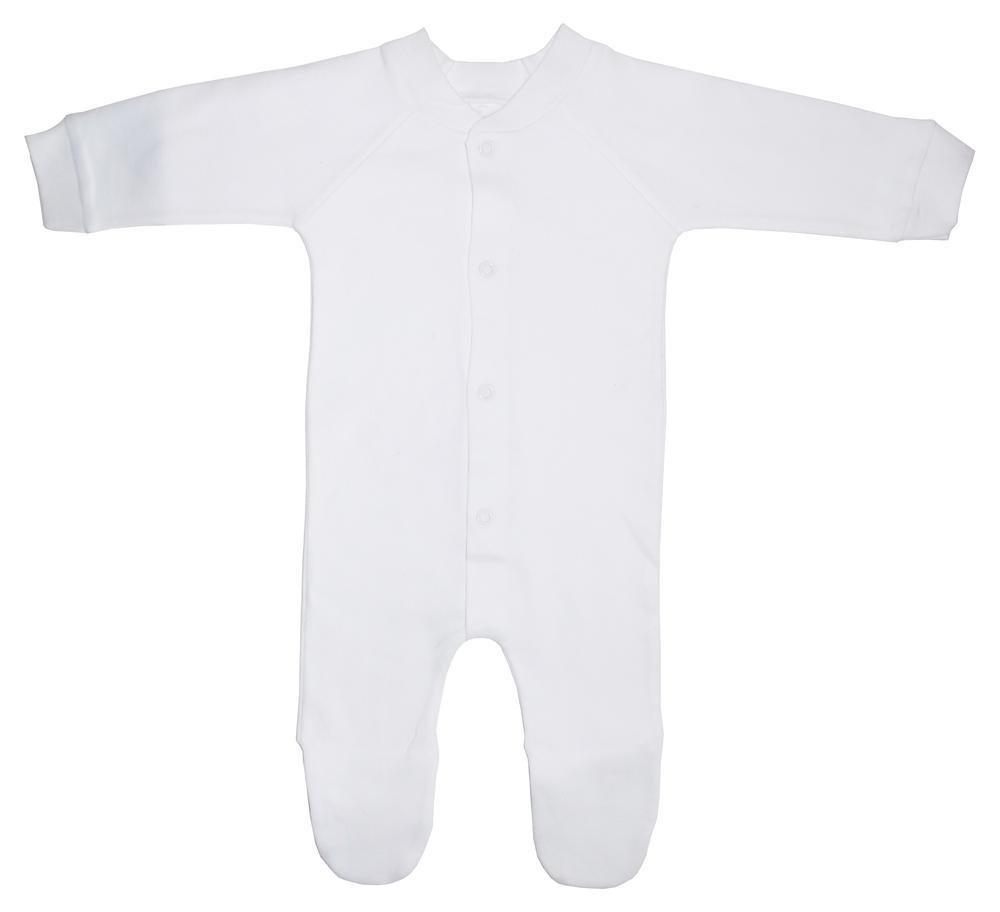 Infant Blanks 515W - Interlock Closed-Toe Sleep & Play
