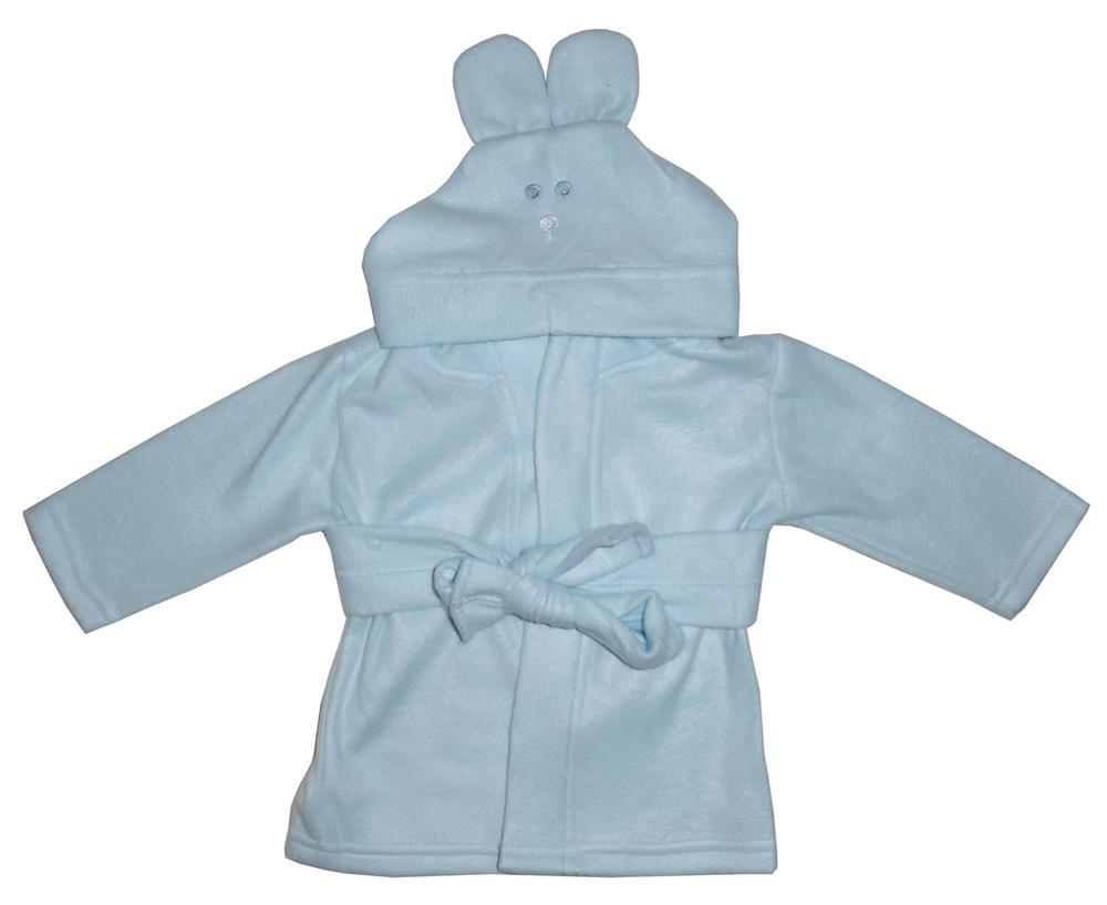 Infant Blanks 965 - Fleece Robe With Hoodie