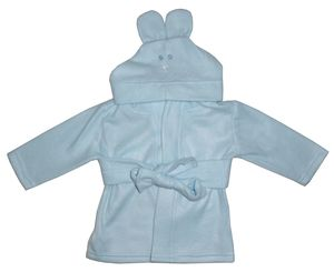 Infant Blanks 965 - Fleece Robe With Hoodie