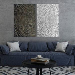 Artwall and Co 1527 - Peinture Contemporaine Spirale