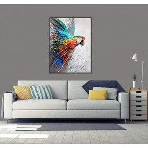 Artwall and Co 788 - Peinture Animaux Perroquet Coloré