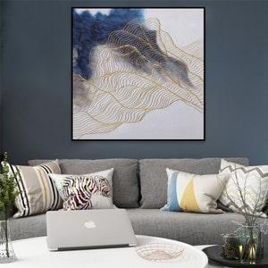 Artwall and Co 1511 - Peinture Design Vague dOr