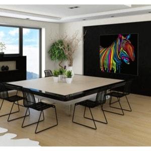 Artwall and Co 295 - Tableau Pop Art Zebra Flash